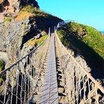 Carrick-A-Rede Rope Bridge照片