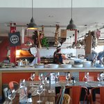 Zizzi's Restaurant on Greenwich Pier - Italian cuisine at its very best!
