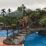 Hot springs near Volcano Arenal!!!