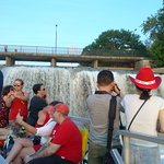 The Rideau canal falls ( I think that is what they are called..)
