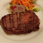 a great cooked rib eye