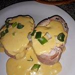 Pollo relleno con salsa 4 quesos!!!