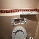 Broken toilet flush, No one came to fix it during out stay!