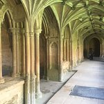 Abbey interior - recognizable from Harry Potter movies