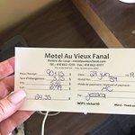 Motel Au Vieux Fanal照片