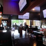 Hurricane Sports Grill indoor and outdoor bar
