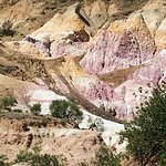 Paint Mines, from above