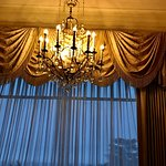 chandlier in our room
