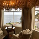 """view from """"seascape"""" room in the beach house"""