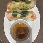 Vietnamese Rice Paper Rolls with Prawns