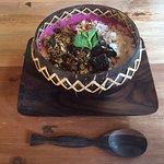 dragonfruit bowl yum!