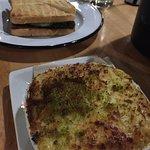 Pochetta with mac n cheese