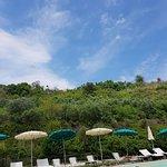 Heerlijk gegeten en zalig zwembad
