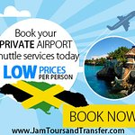 we do private transfer to all resort in jamaica