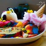 New Special: Rainbow Bagel