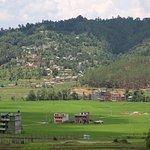 panauti village in monsoon