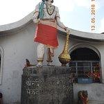 Lord Hanuman idol at Chamunda Nandikeshwar Temple