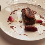 Effiloché de boeuf au foie gras