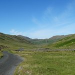 Drive up to Wrynose