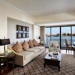 Anantara River Front Suite - Living room