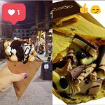 Bubble waffle or Choco Kebab? choose yours :)