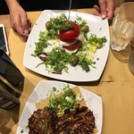 Roman Artichoke and Caprese Salad