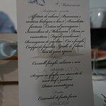 una serata magica, cibo di ottima qualità!!