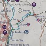 La Seille est un canal, de 39 km,  qui relie La Truchère à Louhans
