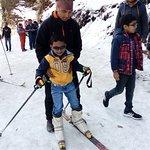 Skiing at Solang Valley