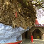 Main temple area