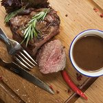 Стейк из мраморной говядины / Marbled Beef Steak