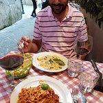 Dinner at Taverna dell'800, Sorrento, Italy.