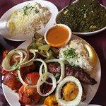 Taste of India's Tandoori Surprise Mixed Grille