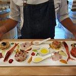 Degustazione dei nostri crudi di mare in taglio Sashimi e le nostre tartare condite