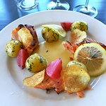 Blazed salmon