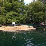 Model boating lake