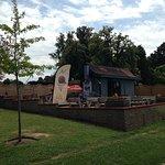 Cafe in park