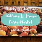 William L Brown Farm Market