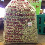 Pink Eye Purple Hull Peas 8 lb bag