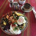 This was the veggie breakfast