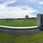Bonfire Memorial looking south towards campus