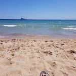Benidorm Island from Poniente Beach