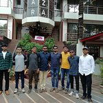 Me with my friends at kumar plaza