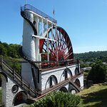 Great Laxey Wheel, built in 1854 to pump water from the Laxey mines