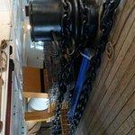 Bilde fra HMS Warrior 1860
