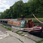 Beautiful narrow boat