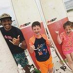 Surfing spot Pebbles Beach Barbados, Ride The Tied Surf School