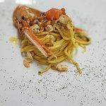 Spaghetti carbonara di mare