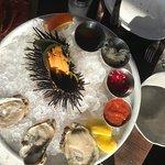 生ウニと生牡蠣