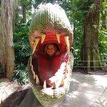 Dinosaur world visit